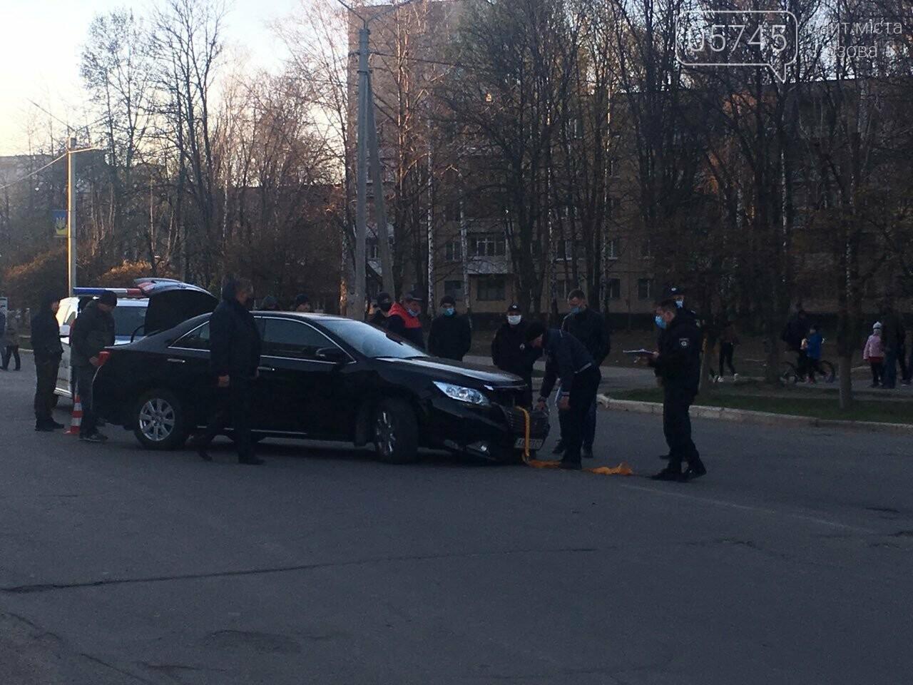 В Лозовой автомобиль сбил мотоцикл, есть пострадавшие (ФОТО), фото-2