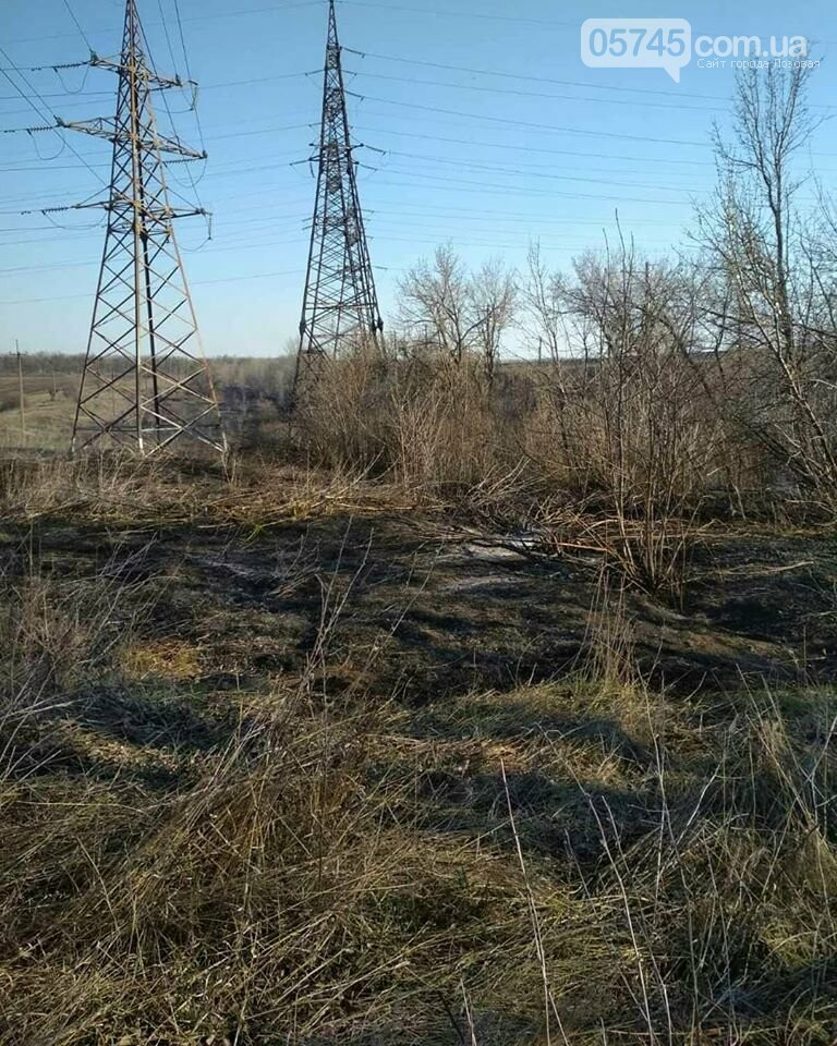 Лозовщина в огне: за неделю выгорело почти 11 гектаров сухостоя, фото-10