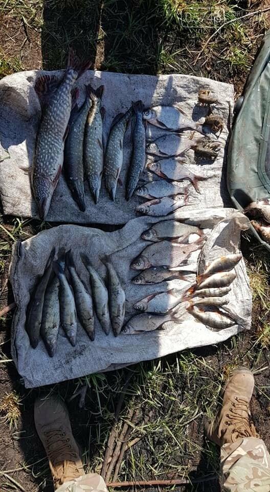 Опасные хитрости: браконьеры на Лозовщине ставят сети на рыбу и ежи для прокола колес, фото-4