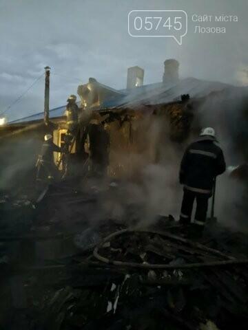 На Лозовщине из-за пожара полностью сгорела деревянная пристройка жилого дома, фото-2