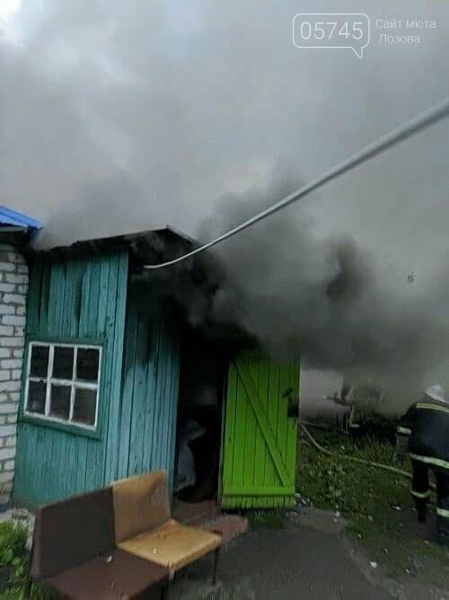 На Лозовщине из-за пожара полностью сгорела деревянная пристройка жилого дома, фото-4