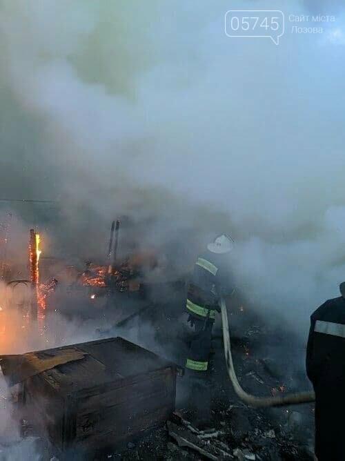 На Лозовщине из-за пожара полностью сгорела деревянная пристройка жилого дома, фото-5