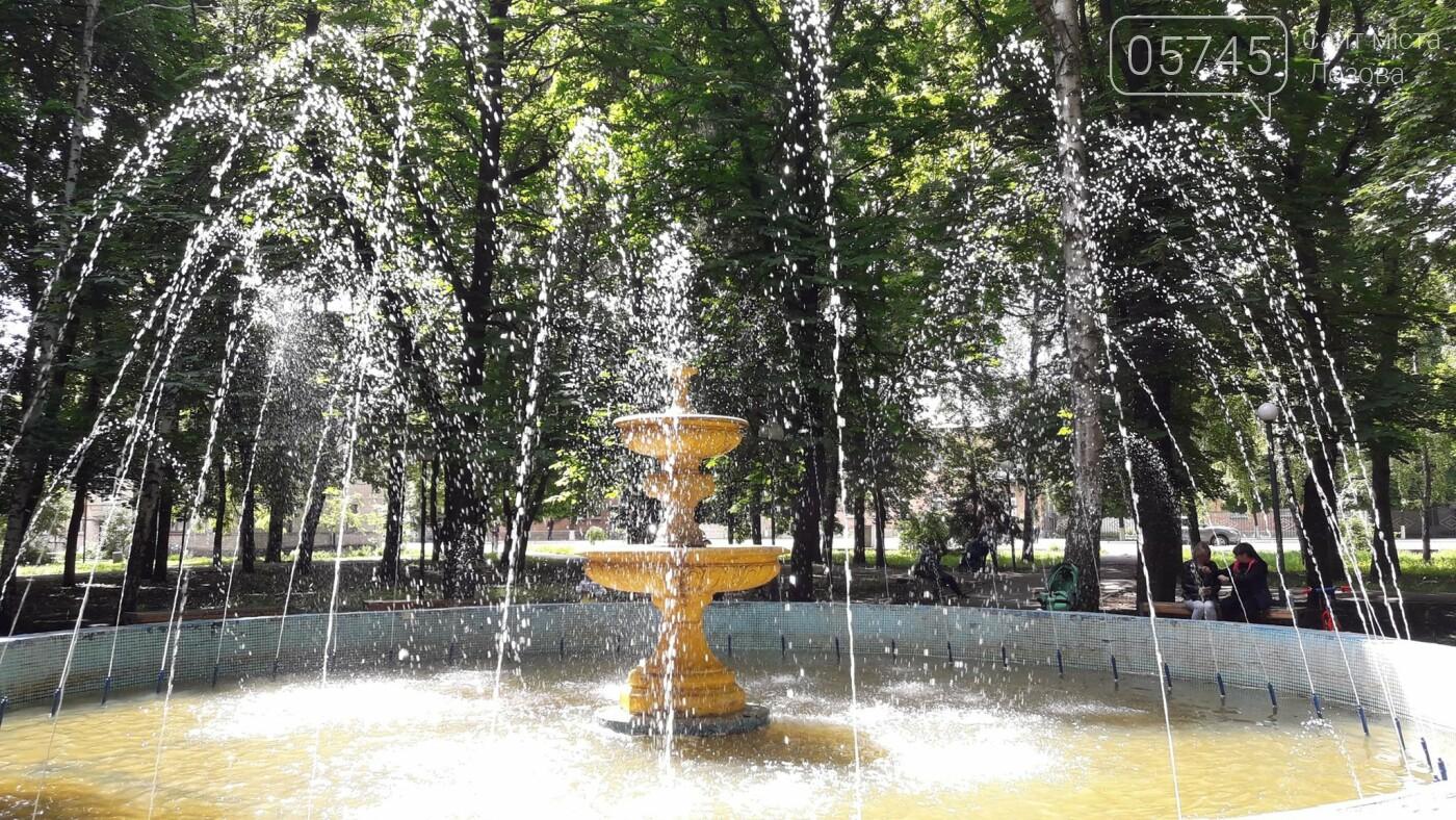В Лозовой заработали фонтаны, фото-3