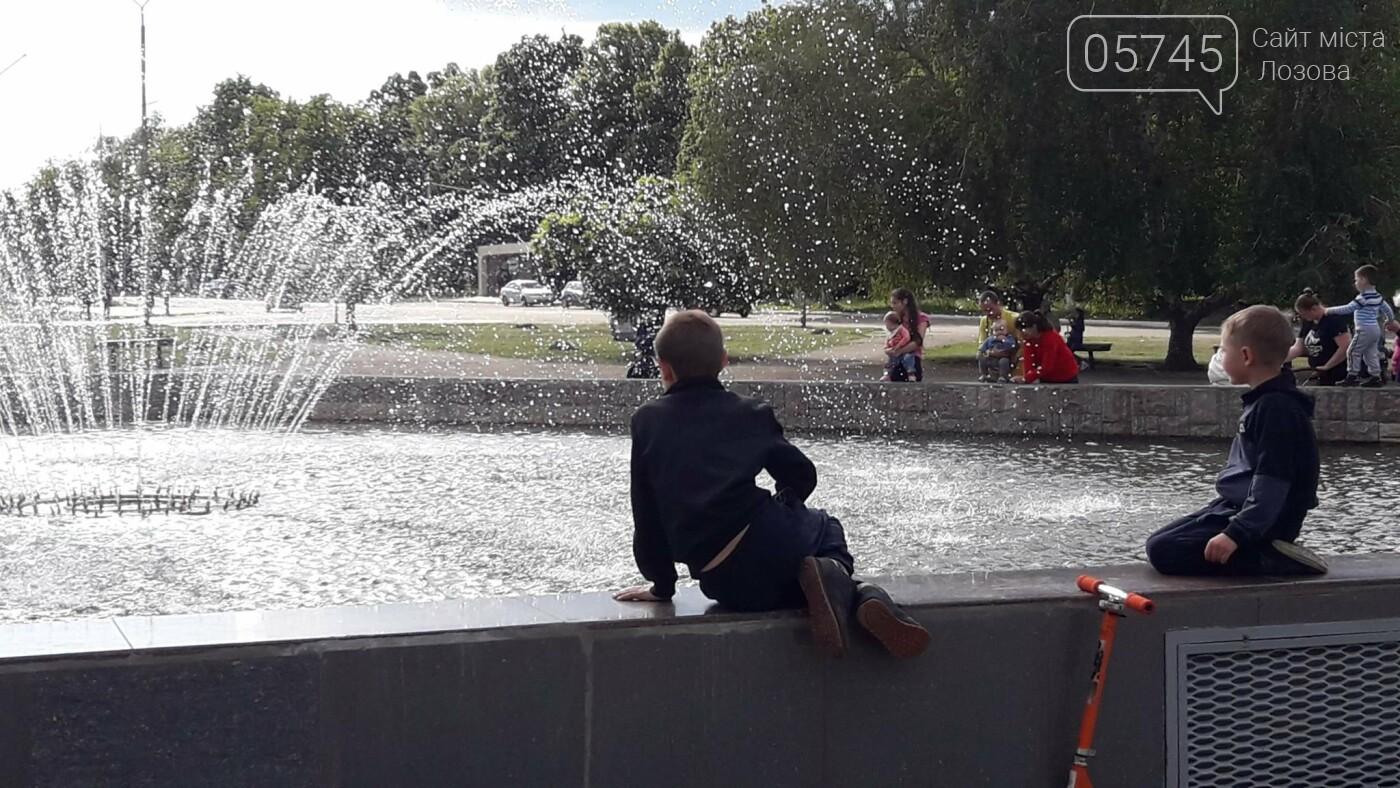 В Лозовой заработали фонтаны, фото-7