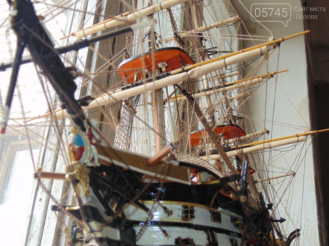 «Я построил флот в миниатюре»: лозовчанин с детства строит модели военных парусников, фото-7