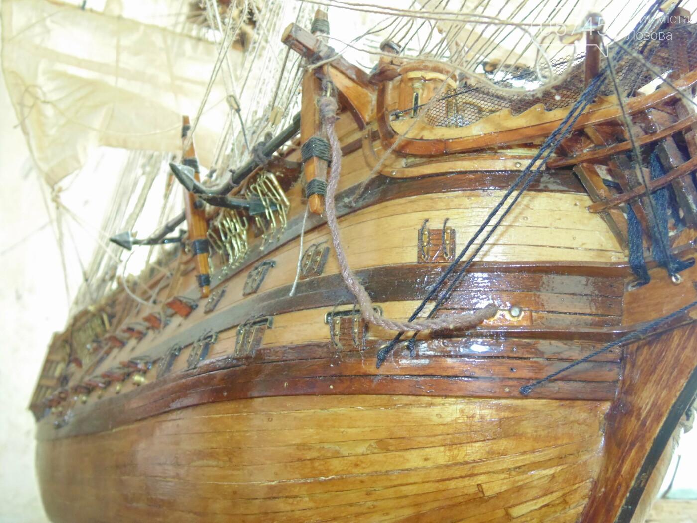 «Я построил флот в миниатюре»: лозовчанин с детства строит модели военных парусников, фото-20
