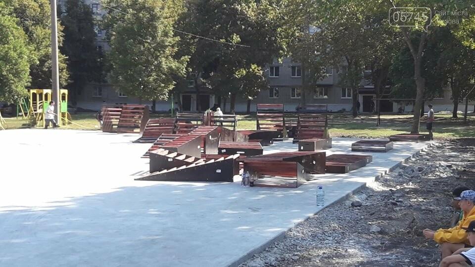 Подготовка к открытию: в Лозовой устанавливают фигуры скейт-парка (ФОТО), фото-4