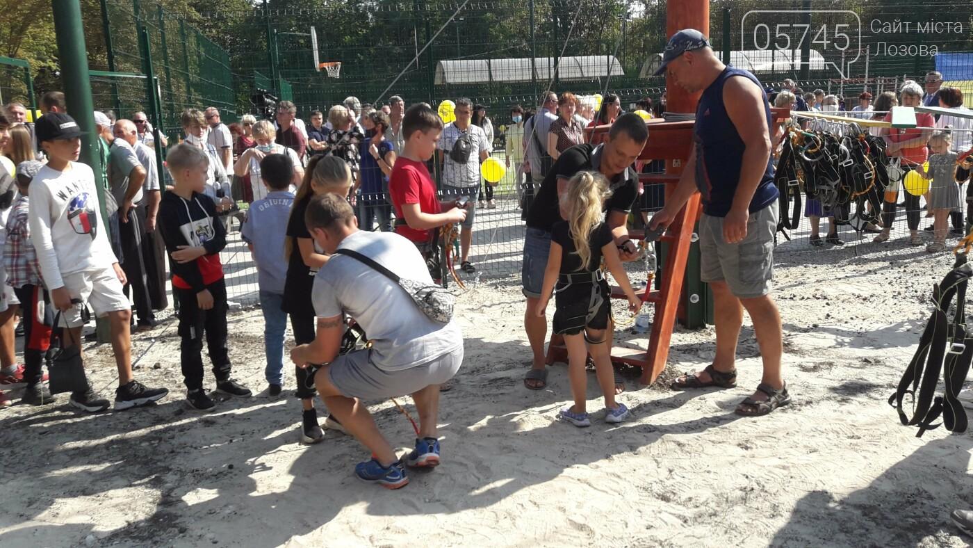 В Лозовой открыли 2 экстрим-парка: как работают площадки, фото-7