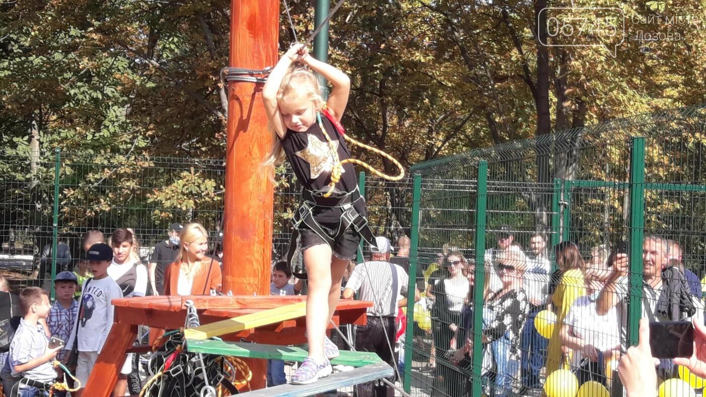 В Лозовой открыли 2 экстрим-парка: как работают площадки, фото-6