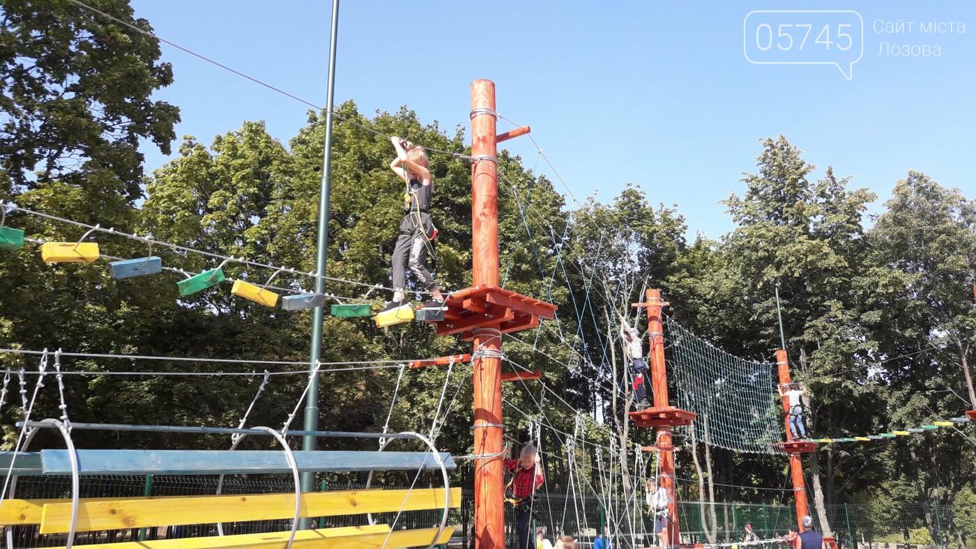 В Лозовой открыли 2 экстрим-парка: как работают площадки, фото-20