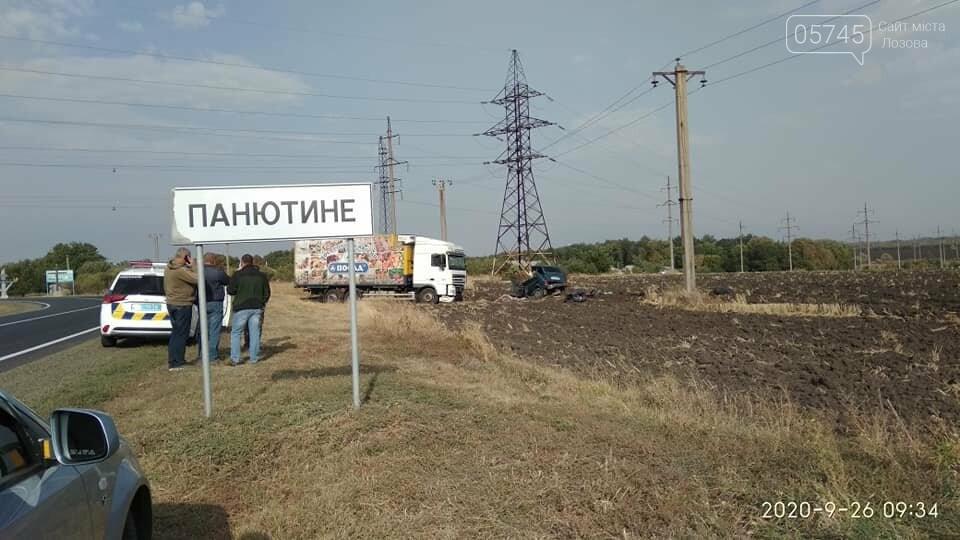На Лозовщине, в Панютино, случилось ДТП: погиб человек, фото-2
