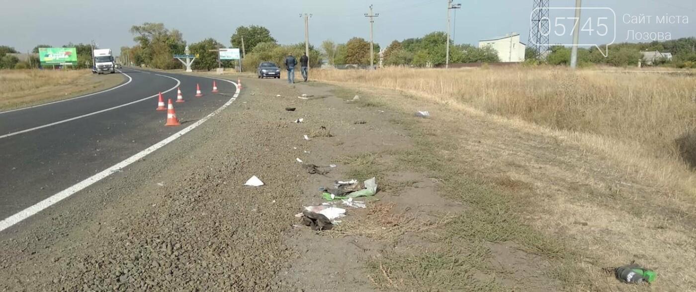 На Лозовщине, в Панютино, случилось ДТП: погиб человек, фото-3