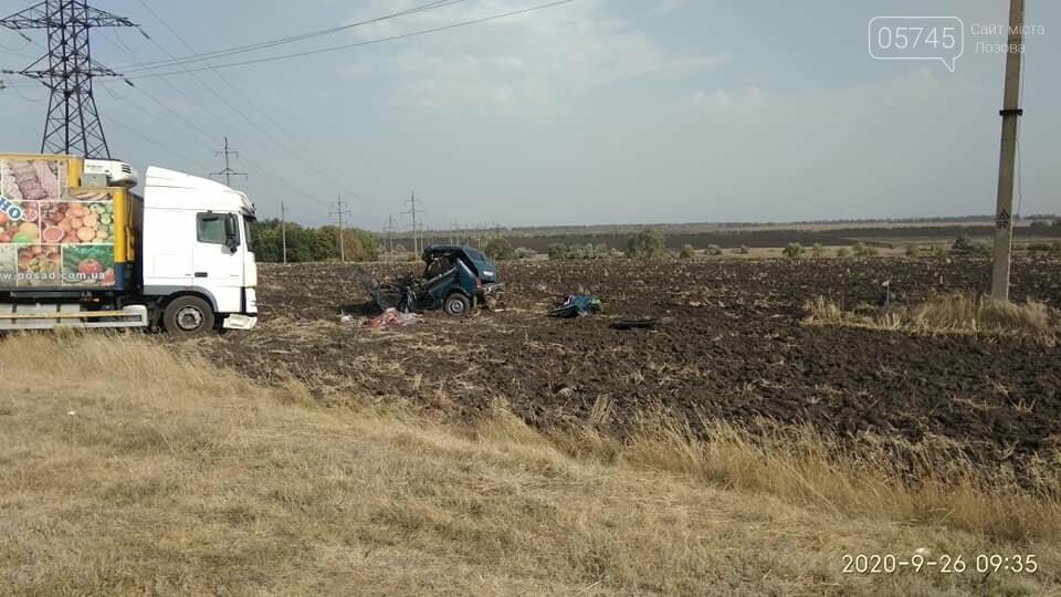 На Лозовщине, в Панютино, случилось ДТП: погиб человек, фото-4