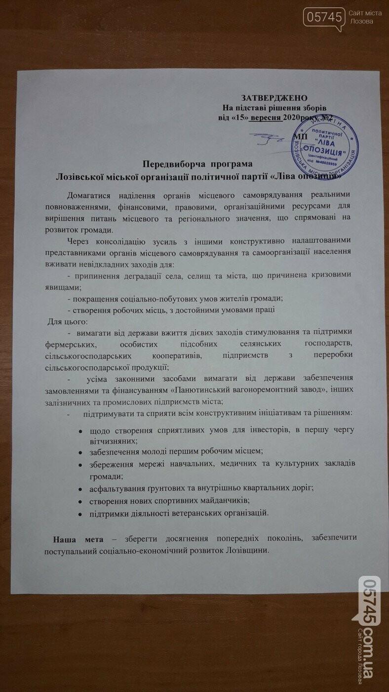 Предвыборные обещания: программы партий в Лозовской горсовет, фото-26