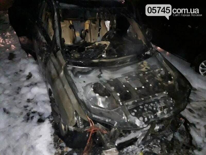 В полиции опубликовали фото мужчины, который причастен к подпалу машины кандидата в мэры Лозовой, фото-1