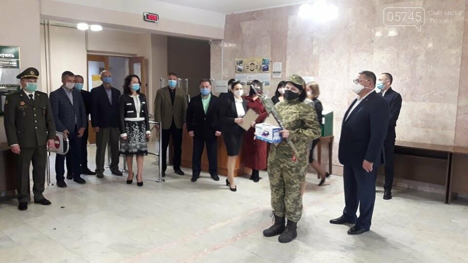 В Лозовой почтили защитников Украины, фото-8