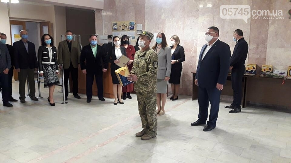 В Лозовой почтили защитников Украины, фото-11