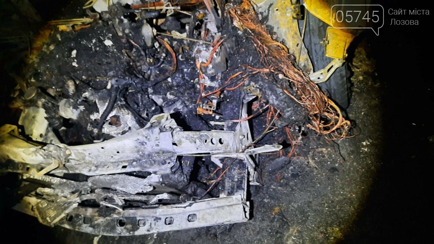 Третье авто за три недели: в Лозовой ночью сгорела очередная машина (ДОПОЛНЕНО), фото-3