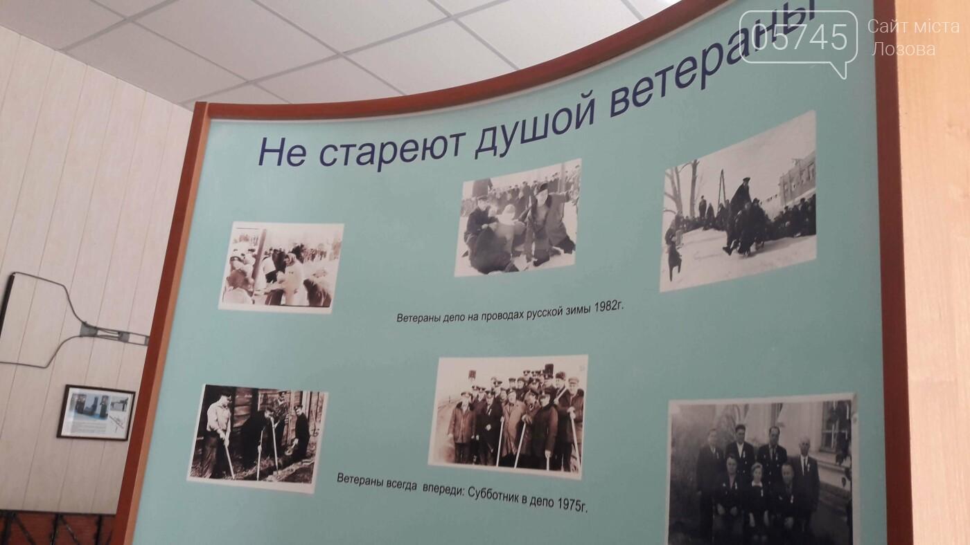 Eksponaty muzeya Lokomotivnogo depo «Lozovaya», 05745.com.ua