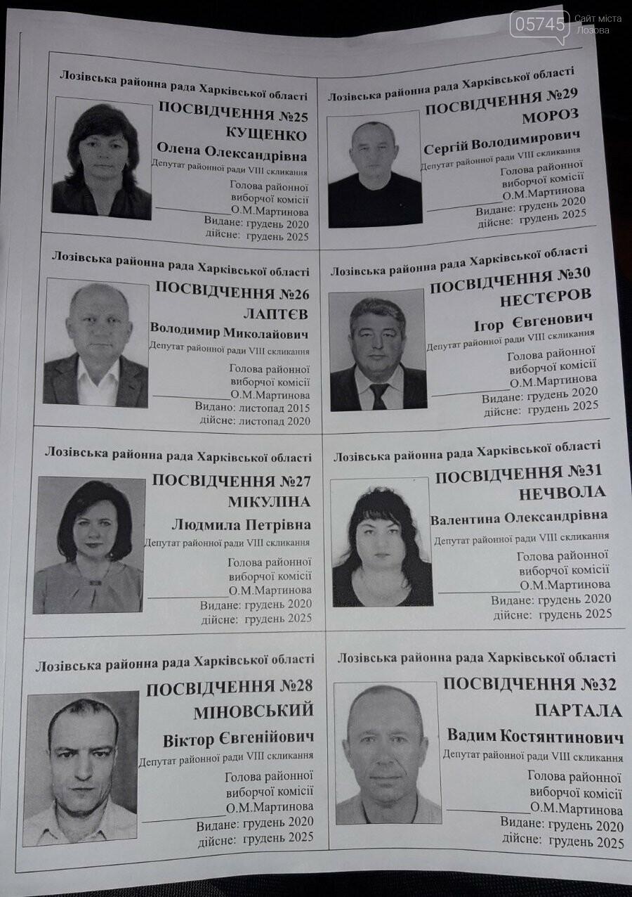 Первая сессия: кто стал депутатами, и кто возглавил Лозовской райсовет, фото-6