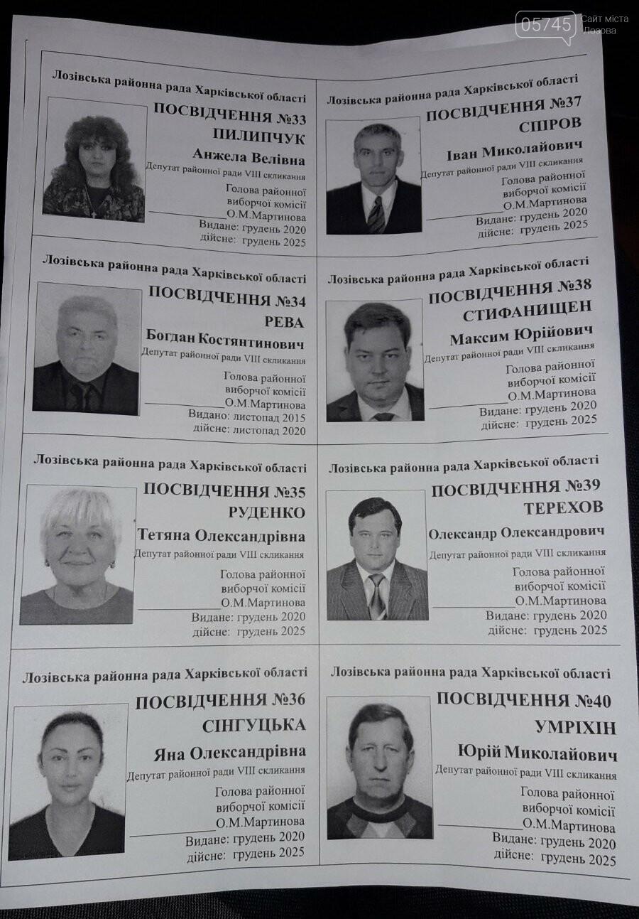 Первая сессия: кто стал депутатами, и кто возглавил Лозовской райсовет, фото-7