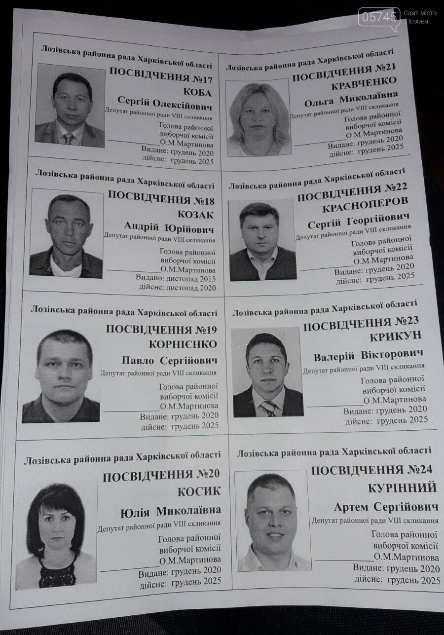 Первая сессия: кто стал депутатами, и кто возглавил Лозовской райсовет, фото-5