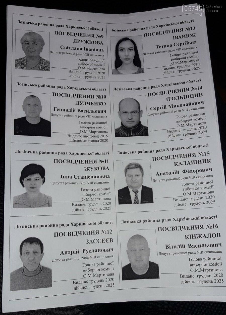 Первая сессия: кто стал депутатами, и кто возглавил Лозовской райсовет, фото-4