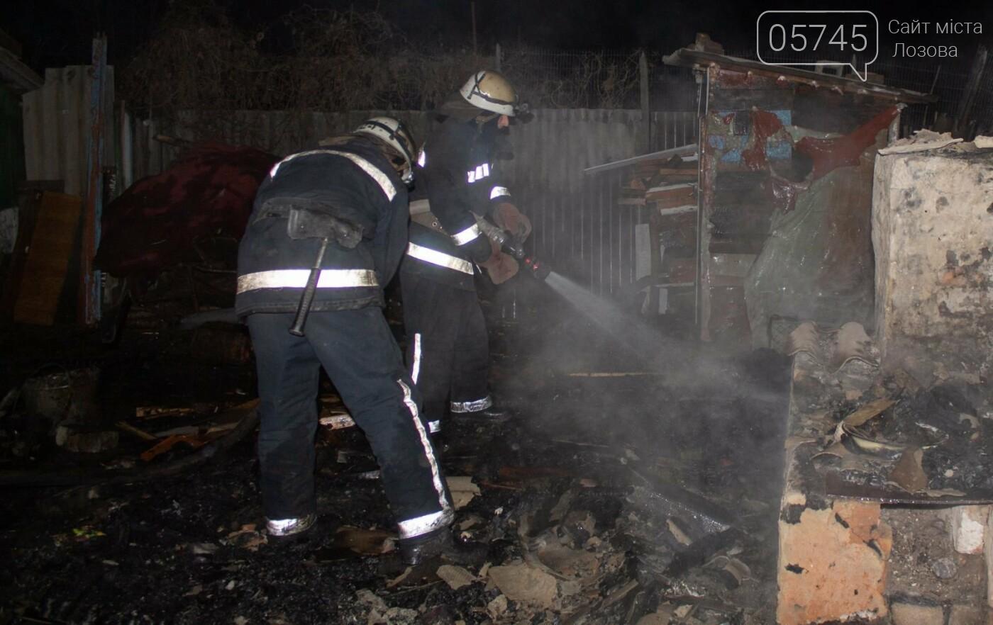 На Лозовщине, в Орельке, из-за пожара, погиб человек (ОБНОВЛЕНО), фото-1