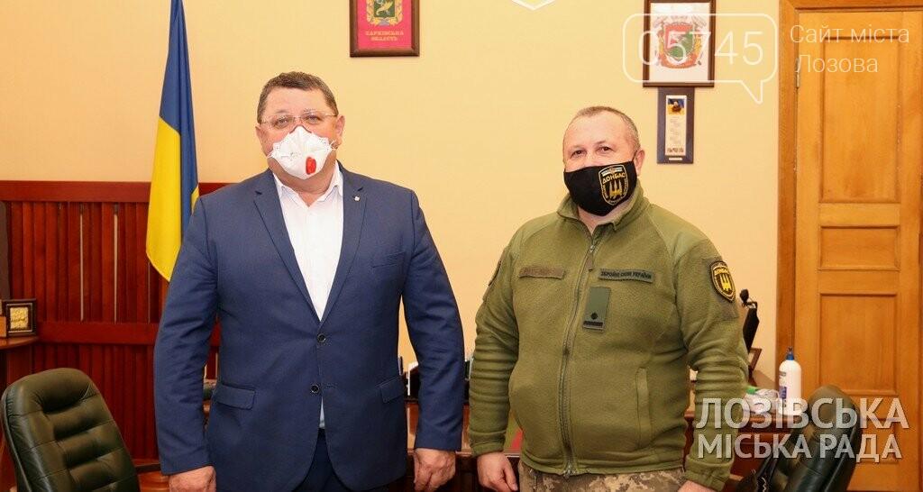 У Лозовій представили нового командира батальйону «Донбас»  , фото-1