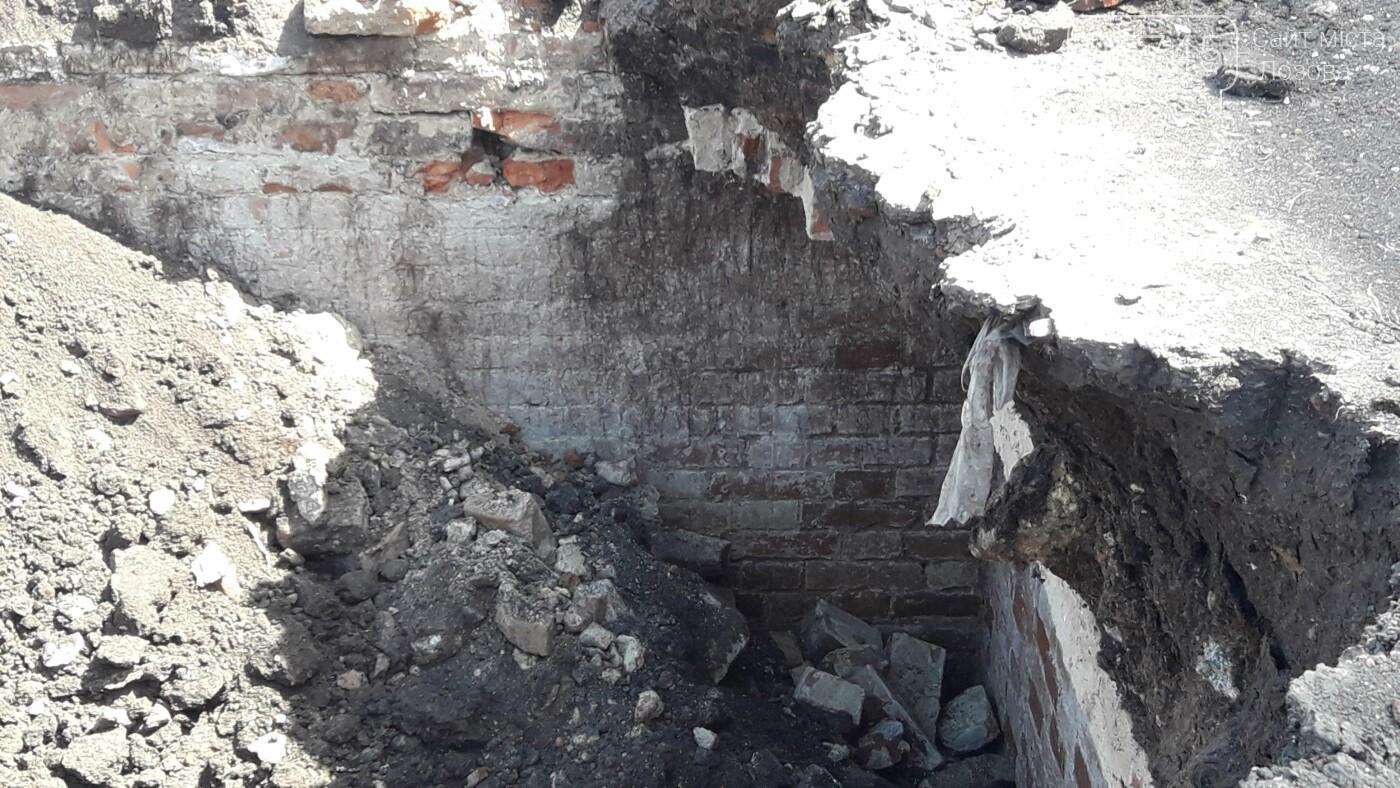 Стара цегла і побілені стіни: у центрі Лозової розкопали довоєнні погреби, фото-5