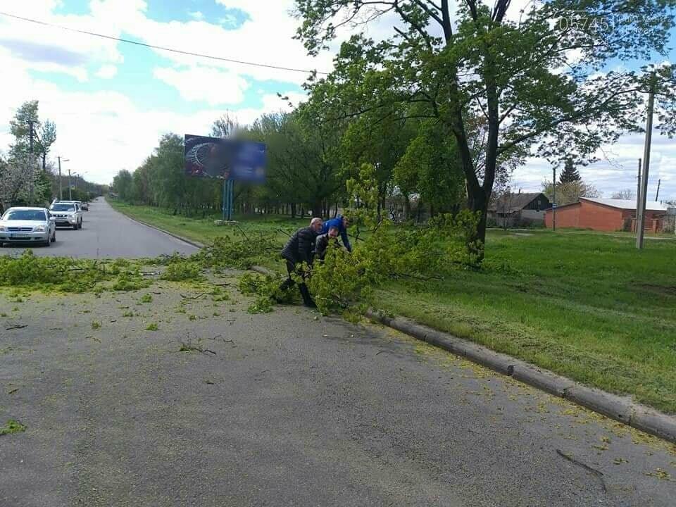 Сильний вітер у Лозовій: що сталося за вихідні, фото-2