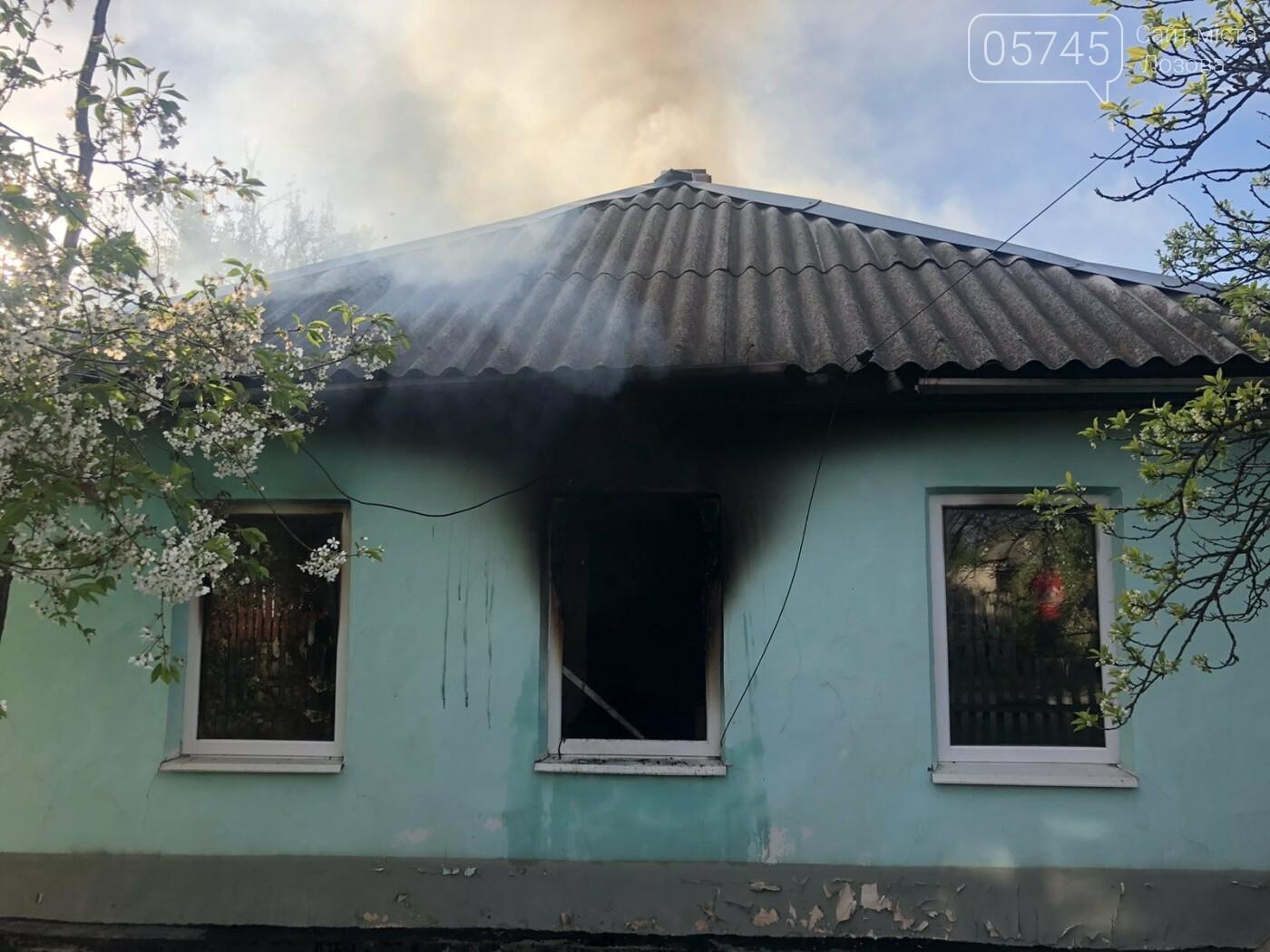 На Лозівщині згорів будинок,  рятувальники підозрюють підпал , фото-3