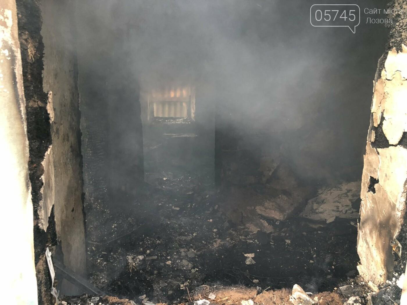 На Лозівщині згорів будинок,  рятувальники підозрюють підпал , фото-6