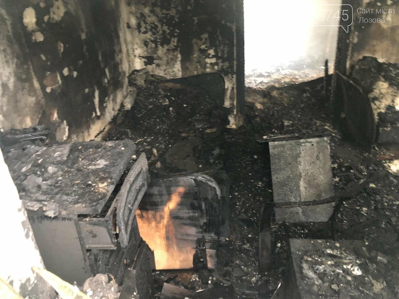 На Лозівщині згорів будинок,  рятувальники підозрюють підпал , фото-7
