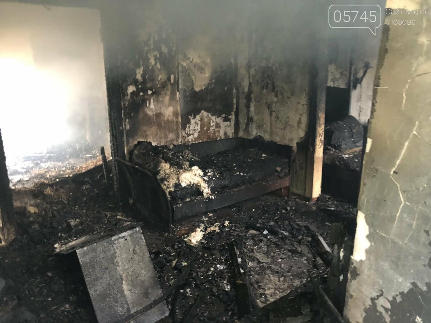 На Лозівщині згорів будинок,  рятувальники підозрюють підпал , фото-8