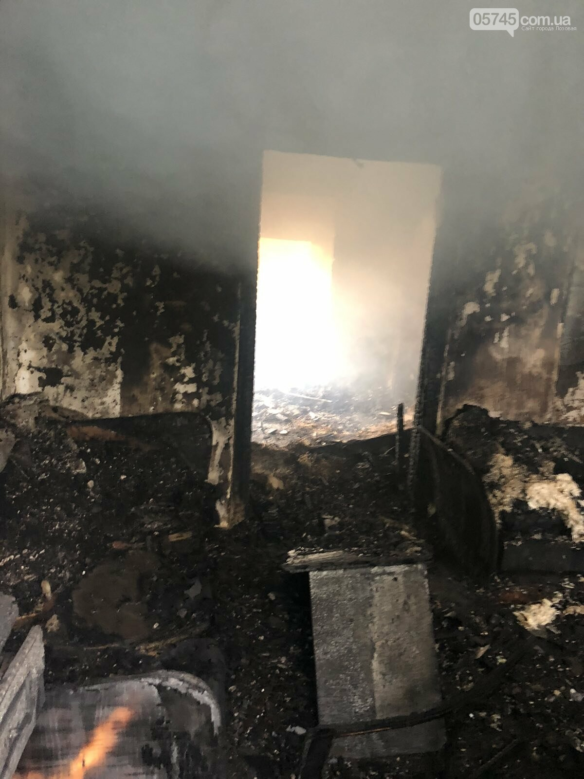 На Лозівщині згорів будинок,  рятувальники підозрюють підпал , фото-9