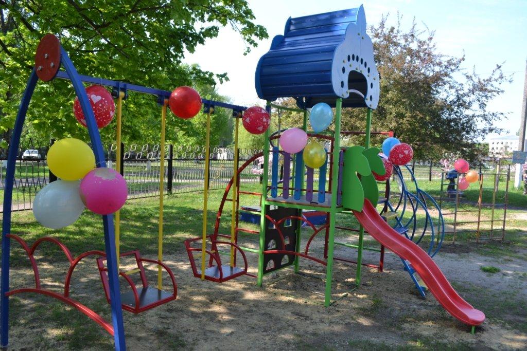 В Краснопавловском детском саду открыли новую игровую площадку, фото-2