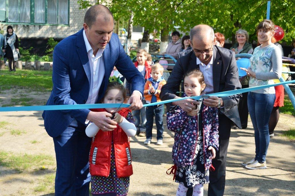В Краснопавловском детском саду открыли новую игровую площадку, фото-3