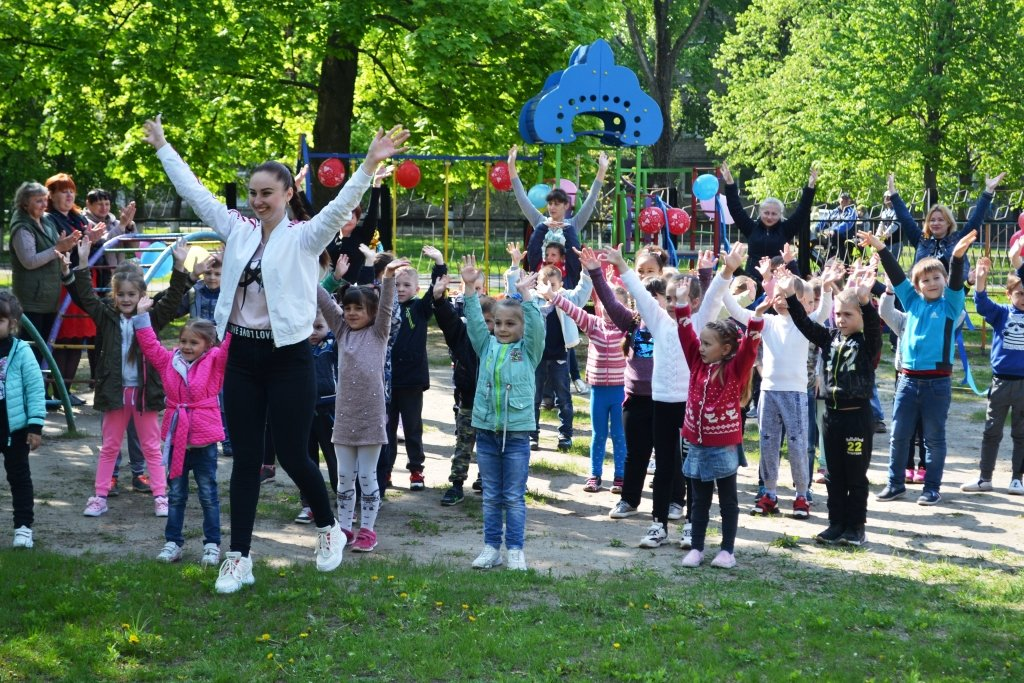 В Краснопавловском детском саду открыли новую игровую площадку, фото-4