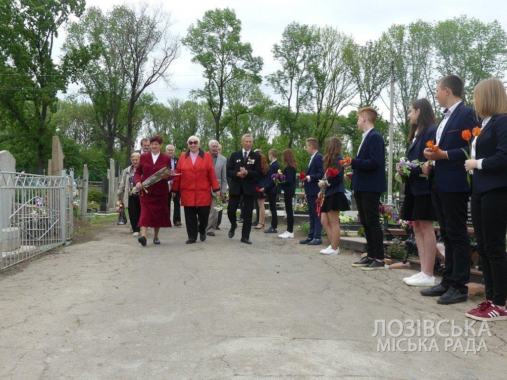 В Лозовской ОТГ почтили память погибших во Второй мировой войне, фото-12