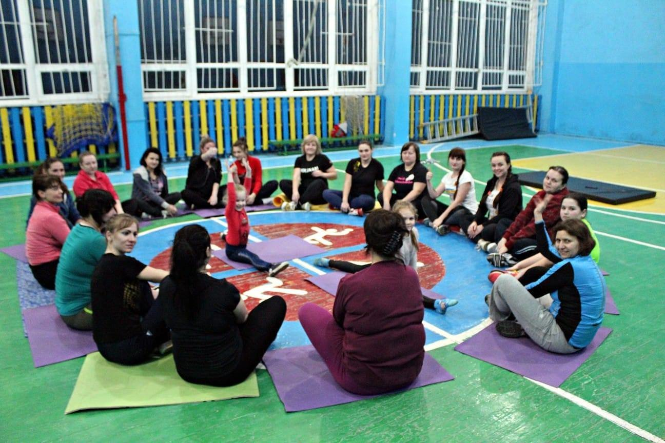 В Лозовой проводят бесплатные фитнес-тренировки, фото-1