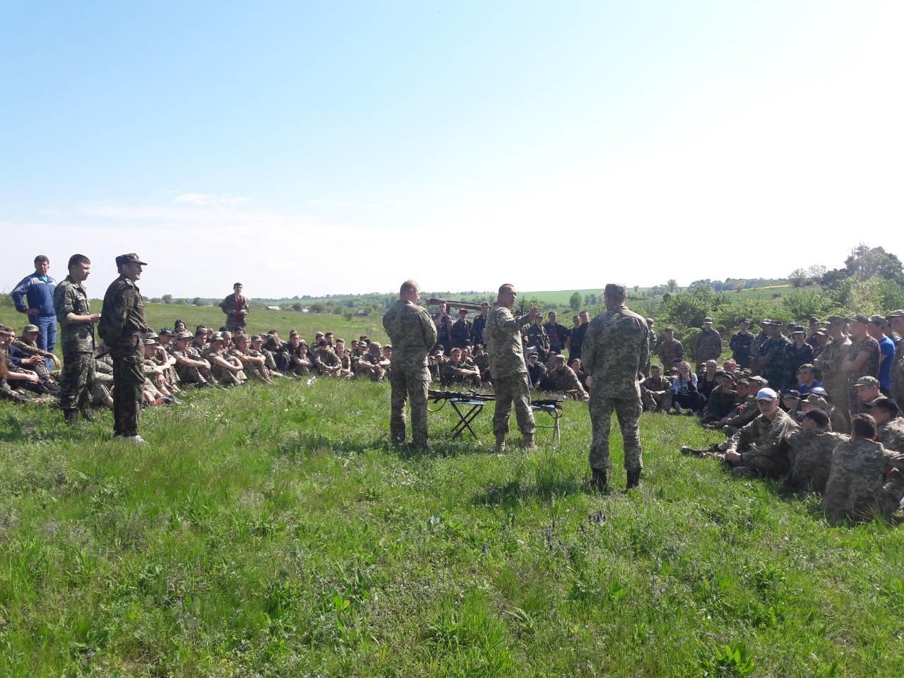 Лозовские старшеклассники вышли на  учебно-полевые занятия, фото-4