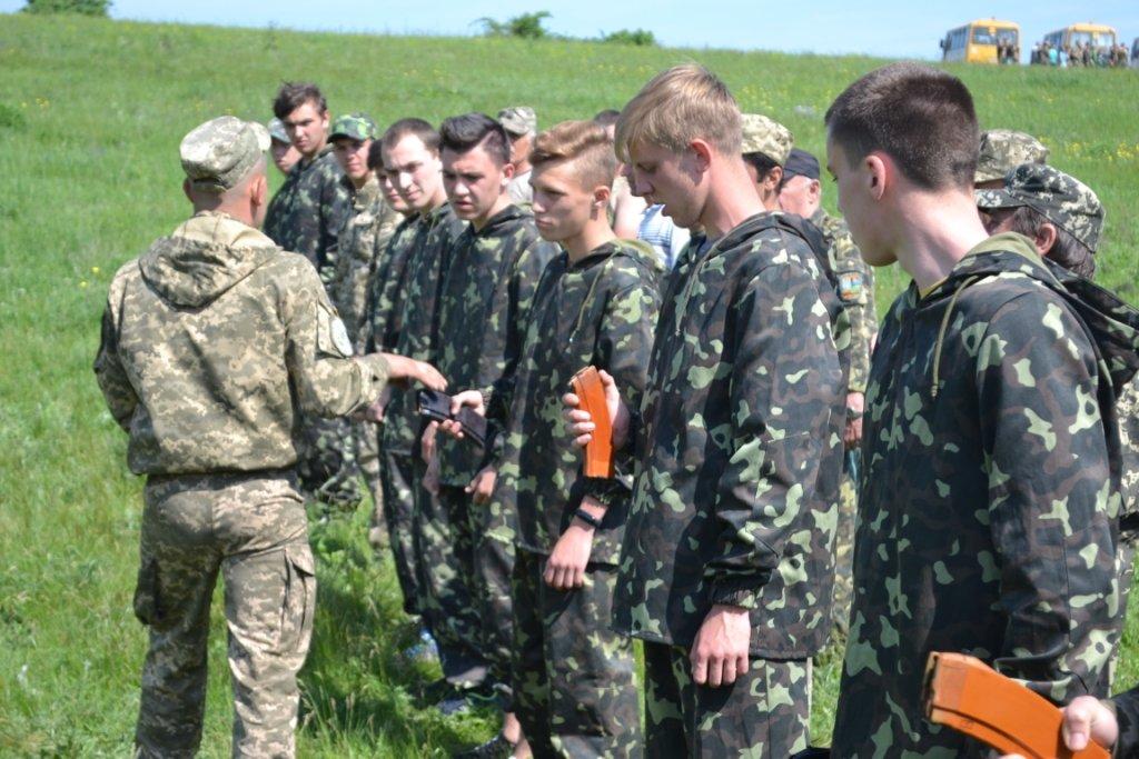 На Лозовщине провели военно-полевые учения для учеников 11-ых классов, фото-1