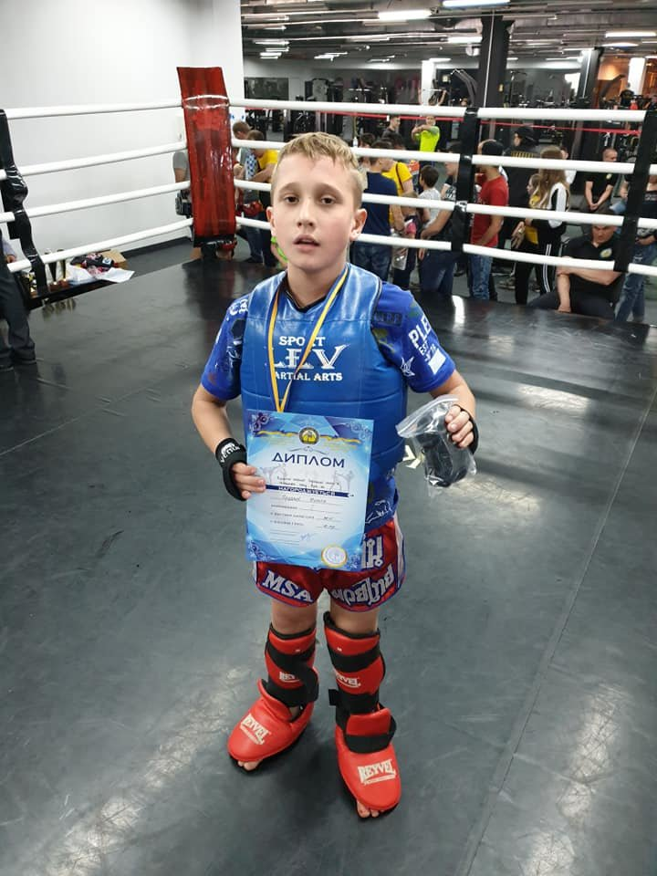 Лозовчане завоевали первое командное место в областном Чемпионате по боксу Муай-тай, фото-14