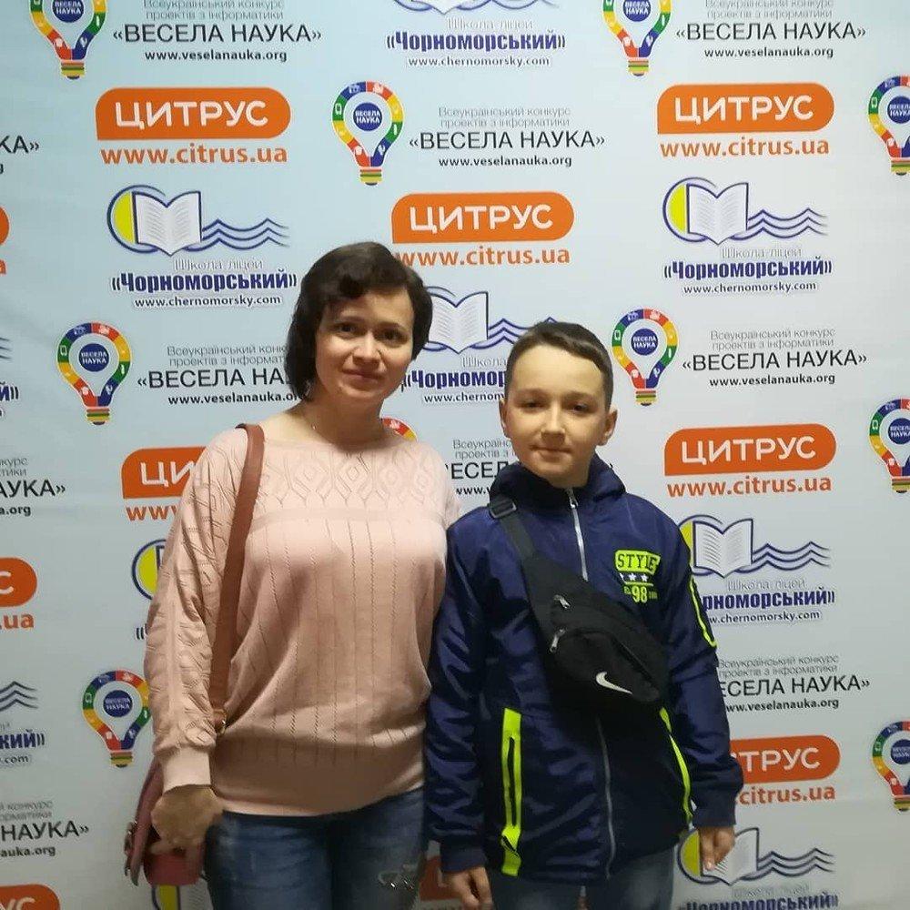 Ученик школы №10 завоевал бронзу по робототехнике на Всеукраинском конкурсе, фото-1
