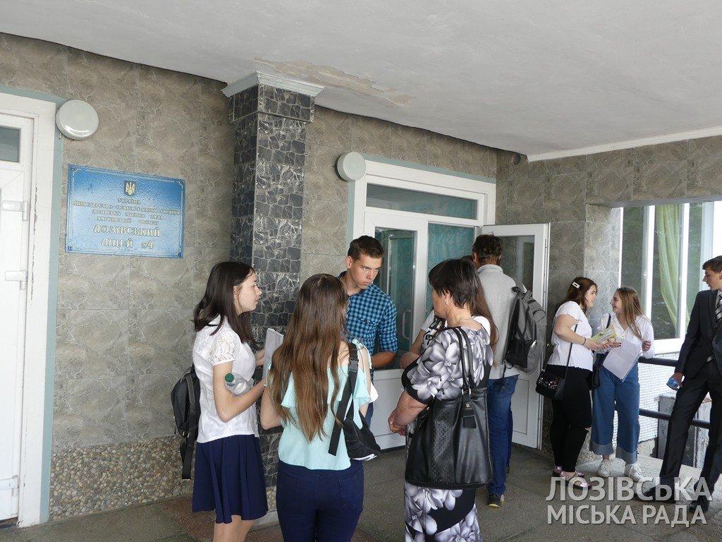 Школьники Лозовщины написали ВНО по математике, фото-4