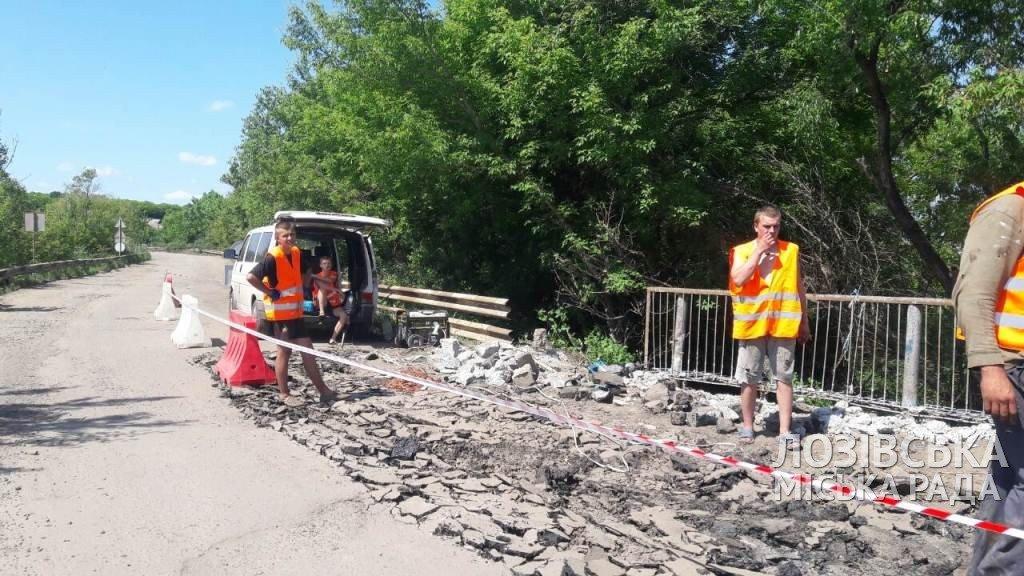В Лозовской ОТГ начали ремонт мостов, фото-1