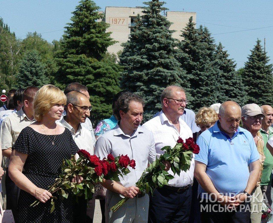 В Лозовой почтили память Федора Супруна, фото-12