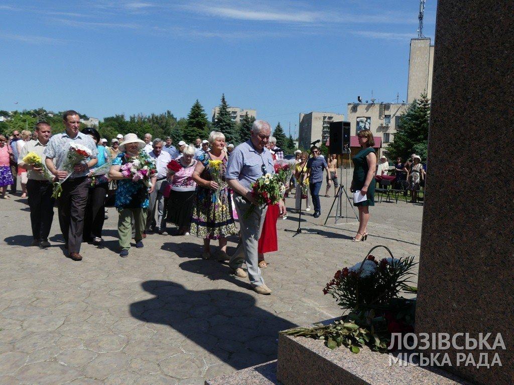 В Лозовой почтили память Федора Супруна, фото-13