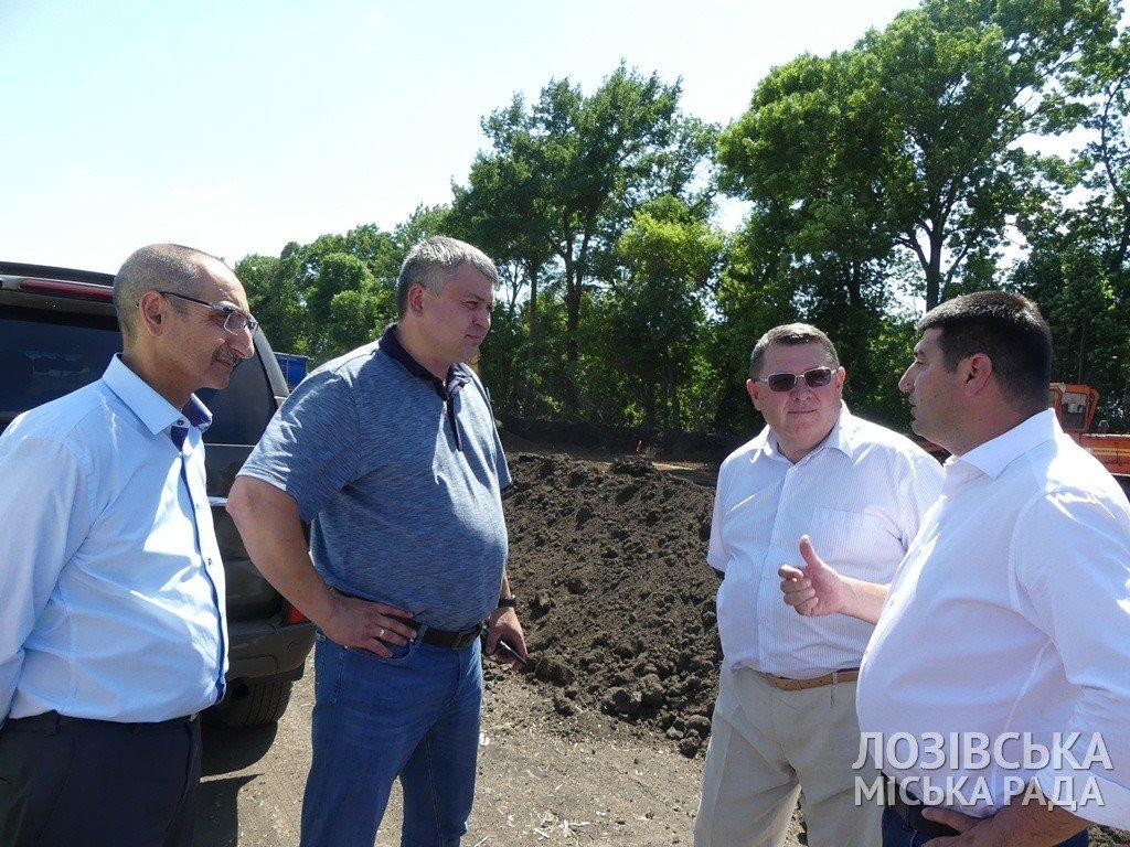 Строительство объездной дороги в Лозовой  планируют закончить к сентябрю, фото-5